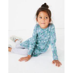 Marks & Spencer Disney Frozen™ 2 Cotton Dress (2-10 Years) - Blue Mix