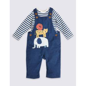 Marks & Spencer 60265319008  - unisex - Blue Mix - Méid: 18-24 Months