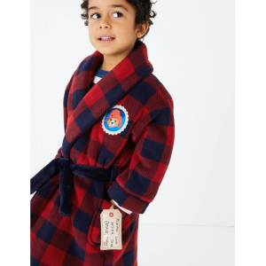 Marks & Spencer Paddington™ Dressing Gown (1-7 Years) - Navy Mix