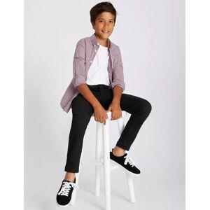 Marks & Spencer Regular Fit Jeans with Stretch (3-16 years) - Med Blue Denim