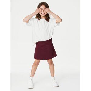 Marks & Spencer Girls' Cotton with Stretch Sports Skorts - Royal Blue