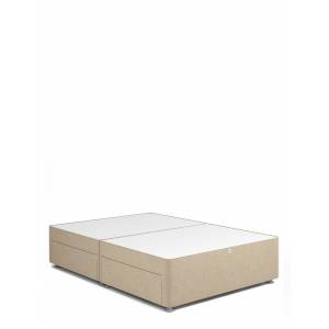 Marks & Spencer Classic Firm Top 2 Drawer Divan - Oatmeal