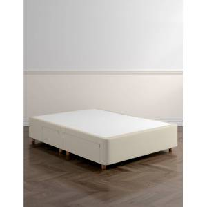 Marks & Spencer Classic Firm Top 2+2 Drawer Divan with Legs - Grey