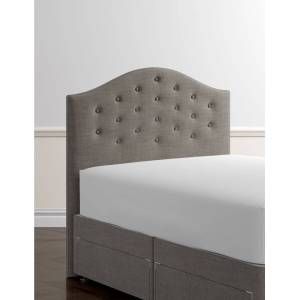 Marks & Spencer Classic Buttoned Headboard - Grey