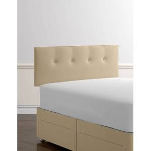 Marks & Spencer Essential Button Headboard - Sand
