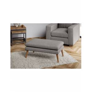 Marks & Spencer Harper Small Footstool - Charcoal