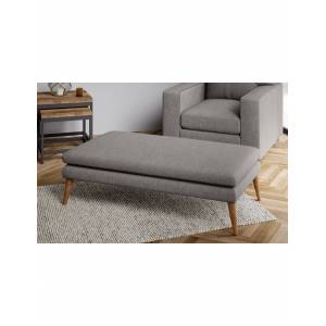 Marks & Spencer Harper Extra Large Footstool - Charcoal