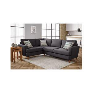 Marks & Spencer Copenhagen Small Corner Sofa (Left-Hand) - Dark Brown
