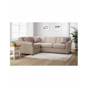 Marks & Spencer Abbey Small Corner Sofa (Left-Hand) - Chocolate