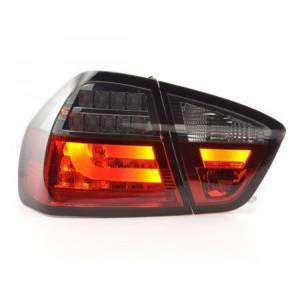 FK-Automotive Led Taillights BMW serie 3 E90 saloon Yr. 05-08 red/black