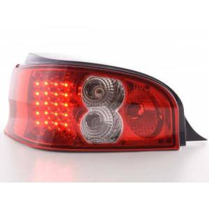 FK-Automotive Led Taillights Citroen Saxo Typ S/S HFX / S KFW Yr. 96-02 clear/red