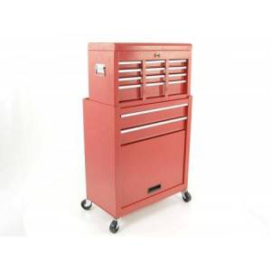 FK-Automotive toolwagen Set with toolbox + Tools cabinet on wheels
