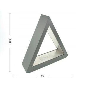 aniba Design Ethanol table fireplace Pyramide black steel House in modernm Design, black