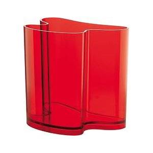 Guzzini Isola Vase and newspaper stand red