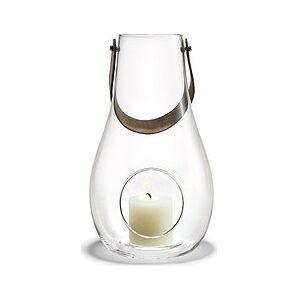 Holmegaard Design With Light Transparent candlestick 24.8 cm