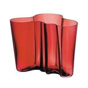 iittala Aalto 16 cm cranberry vase