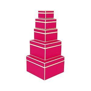 Semikolon Die Kante Gift boxes 5 pcs. pink