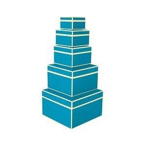 Semikolon Die Kante 5 turquoise gift boxes