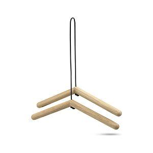 Skagerak Georg Clothes hanger 2 pcs. of natural wood