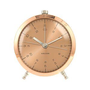 Karlsson Button Alarm clock copper