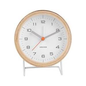 Karlsson Innate White alarm clock