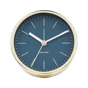 Karlsson Minimal Alarm clock blue