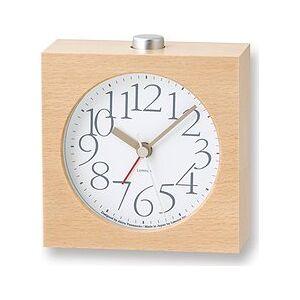 Lemnos AY alarm clock white