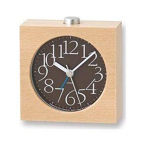 Lemnos AY alarm clock brown