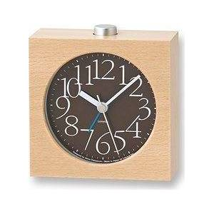 Lemnos AY alarm clock brown