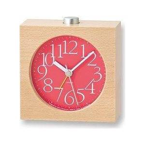 Lemnos AY alarm clock red