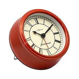 NeXtime Small Amsterdam Alarm clock red