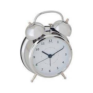 NeXtime Wake Up Alarm clock silver 15 cm