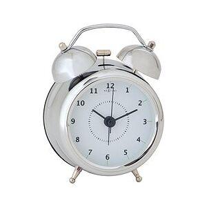 NeXtime Wake Up Alarm clock silver 9 cm