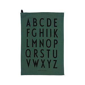 Design Letters AJ Kitchen cloth 2 pcs. green