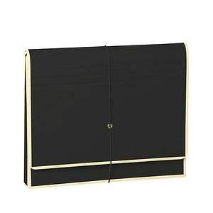 Semikolon Die Kante A4 Document folder with compartment dividers black