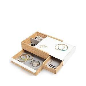 Umbra Stowit Jewelry box light wood