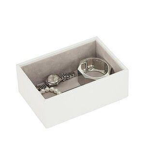 Stackers Mini Stackers Jewelry box open white