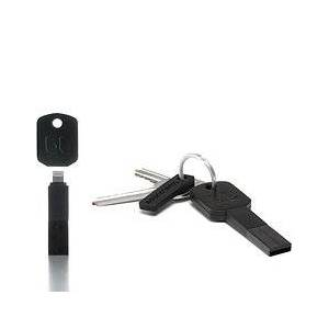 Bluelounge USB Kii key ring with charger Lightning black