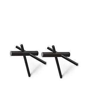 Normann Copenhagen Sticks hooks set of 2 black