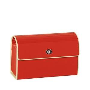 Semikolon Die Kante B6 Folder for documents with compartments red