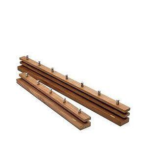 Skagerak Cutter Wardrobe without shelves teakwood 100 cm