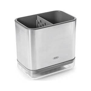 Oxo Good Grips Container for washing up utensils, steel