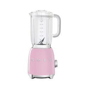Smeg Style Blender 50's pastel pink