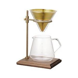 Kinto Slow Coffee Style Coffee brewer with decanter and base