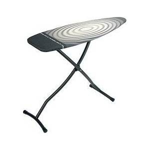 Brabantia D Titan Oval Ironing board size with hot iron compartment