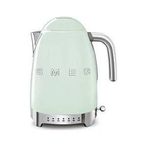 Smeg Style Electric kettle with temperature control 50's pastel green