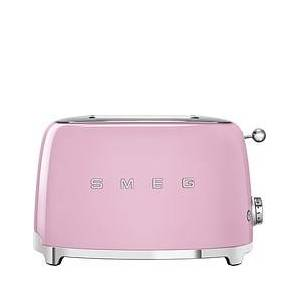 Smeg Style Toaster for 2 slices 50's pastel pink