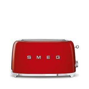 Smeg Style Toaster for 4 slices 50's red