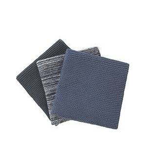 Blomus Wipe Dishwashing cloths 3 pcs. blue