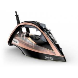 Tefal Ultimate Pure FV9845 Steam Iron-Black & Rose Gold